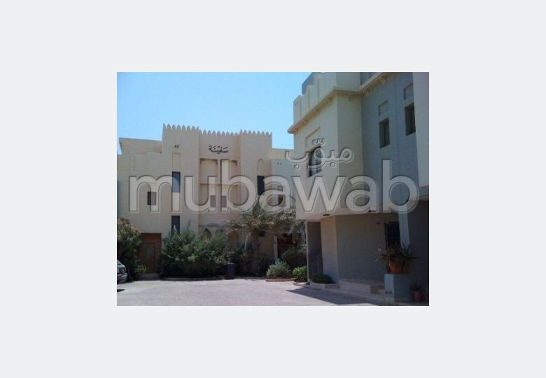 Semi furnished  3 BR apartment for rent in Amwaj
