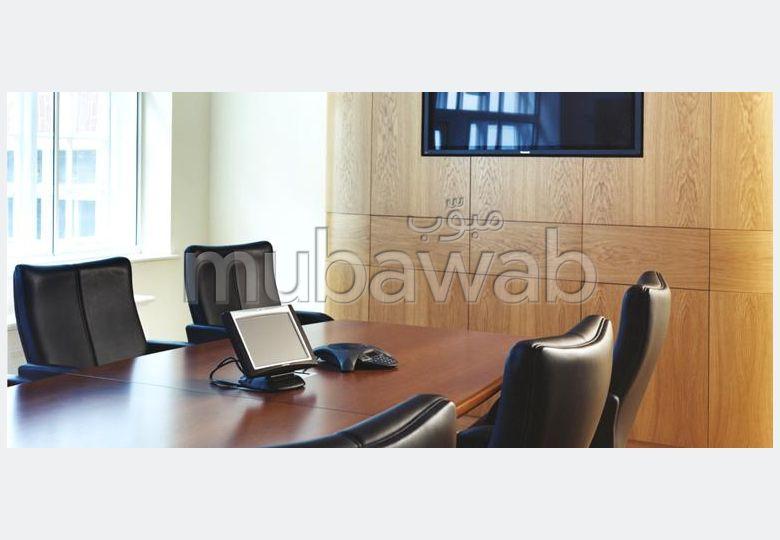 مكتب مساحته 50م²، شرفة، مكيف،  غرفة، جيليز
