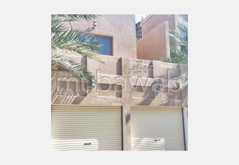 Semi furnished  4 BR apartment for rent in Janabiya