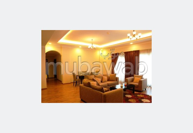 Fully furnished  3 BR apartment for rent in Seef