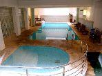 شقة مساحتها 50م²، مفروشة، مطبخ مجهز، غرفتين، جيليز