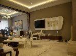 شقة مساحتها 309م²، مطبخ مجهز، مصعد، 5 غرف، بوسكورة