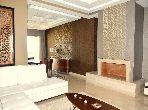 شقة جميلة للبيع ببوسكورة. المساحة 211.0 م². بواب ومكيف الهواء.