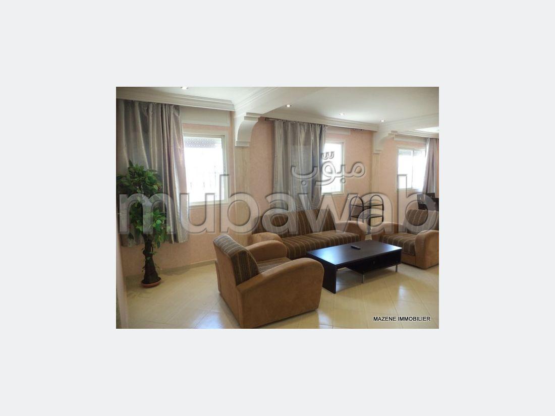 شقة مساحتها 0م²، مطبخ مجهز، شرفة، طنجة المدينة