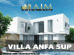 فيلا مساحتها 2200م²، مطبخ مجهز، شرفة، 10 غرف، أنفا