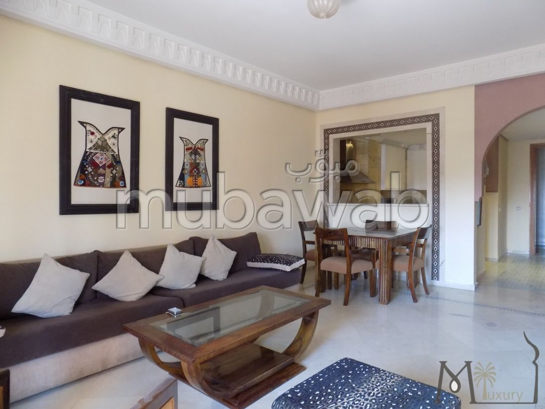 Fabulous apartment for sale in Guéliz. 2 Halls. With lift and terrace.