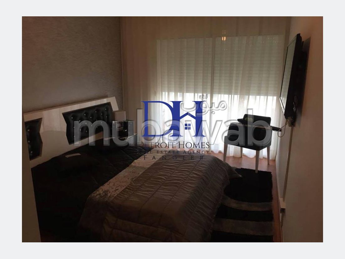 Great apartment for rent in Malabata. Area 140 m². Dressing room.