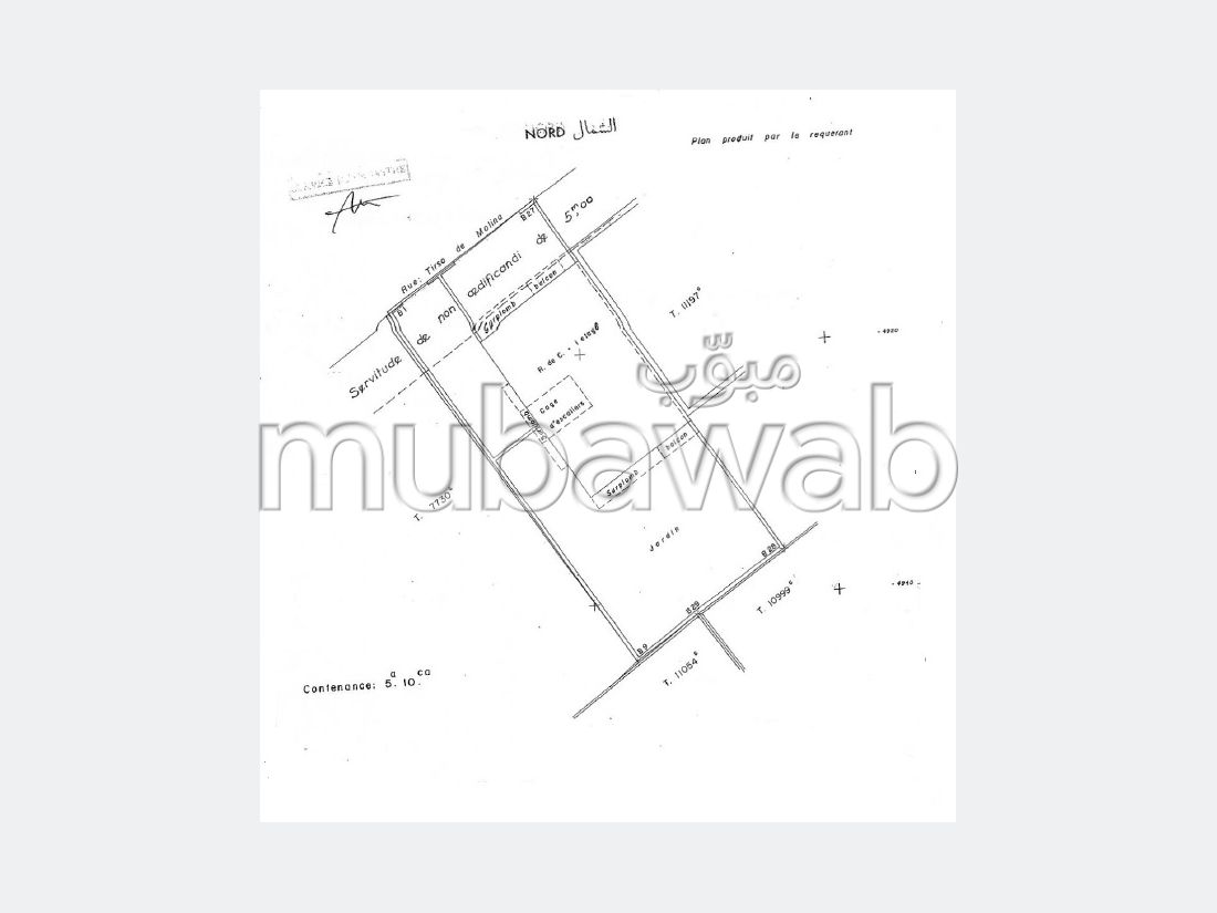 Land for sale in Centre. Surface area 510 m².