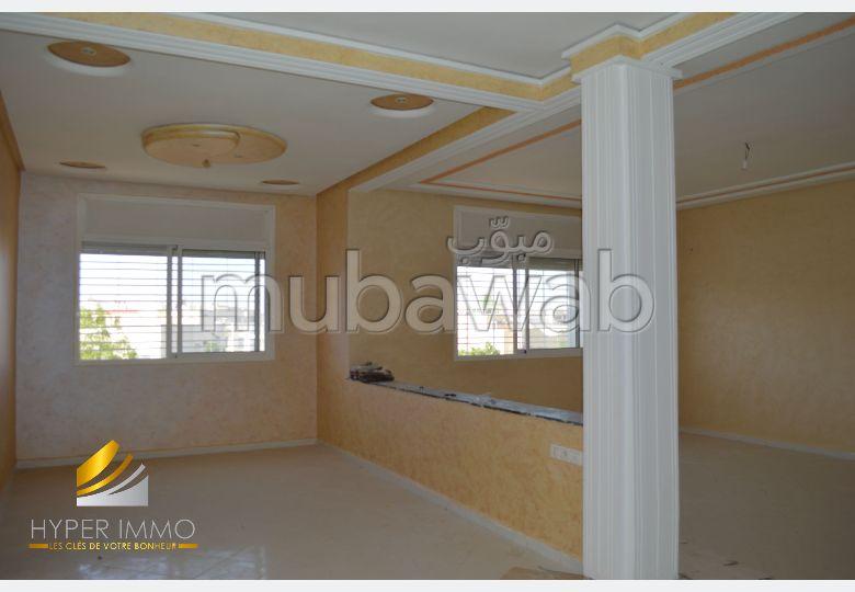 شقة مساحتها 92م²، 4 غرف، فاس