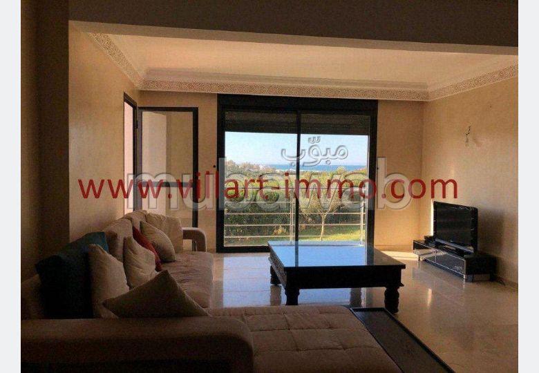 شقة مساحتها 95م²، مطبخ مجهز، شرفة، 3 غرف، أصيلا