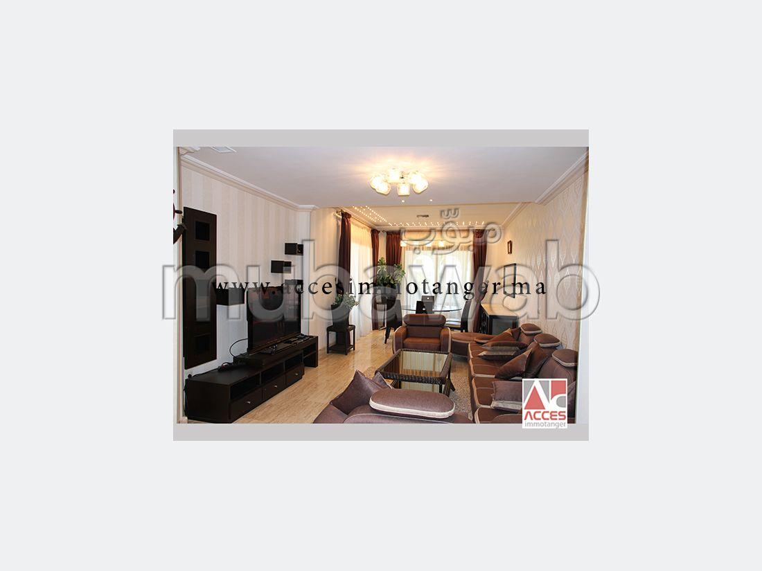 Luxueux appartement meuble haut standing a louer