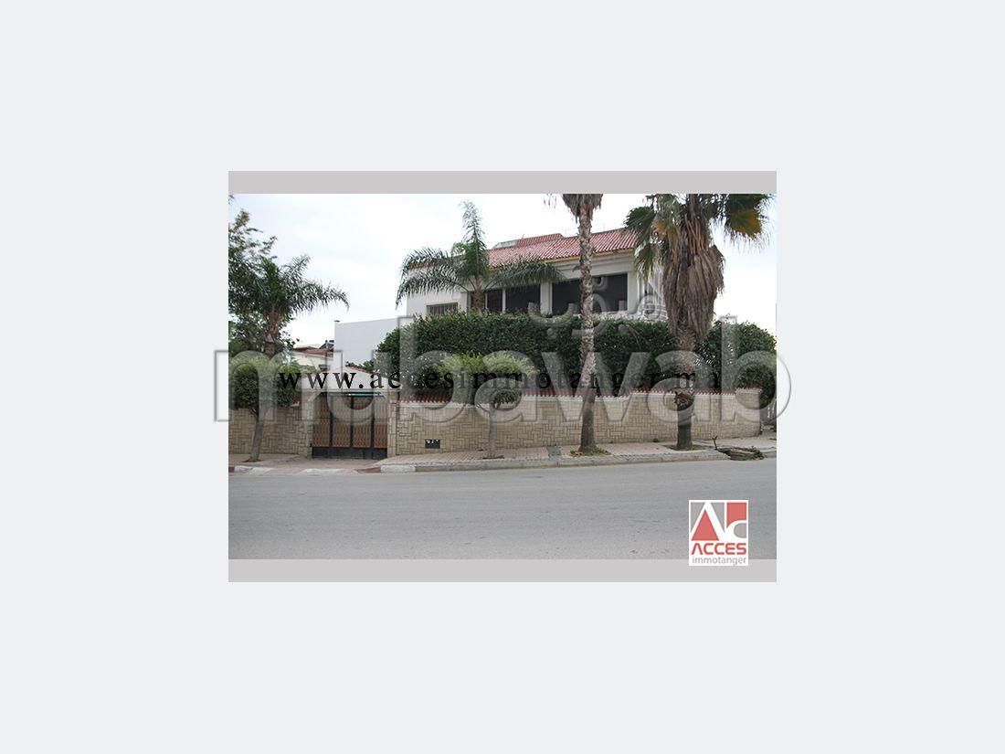 Villa meublée avec piscine a louer