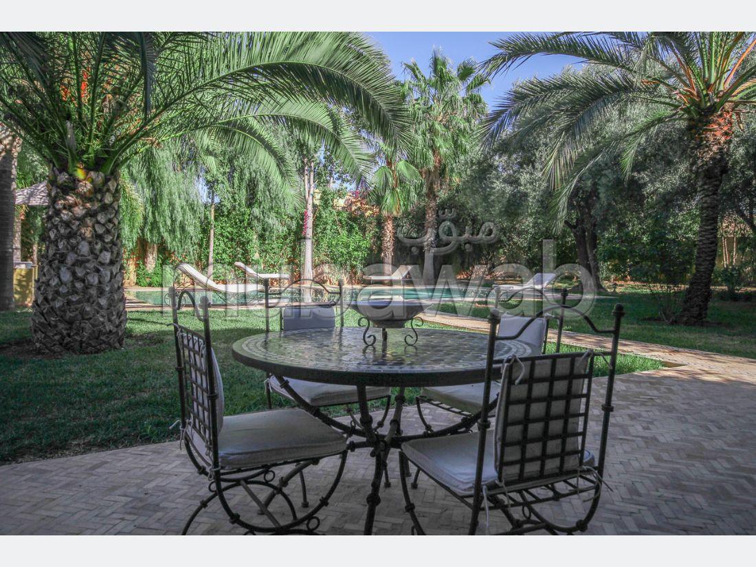 Charmante villa de 6 chambres sur le golf d'amelkis