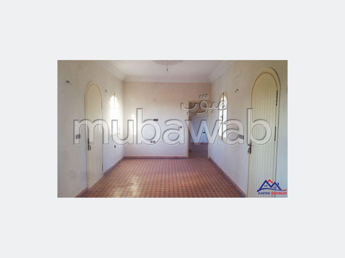 Villa 3 chambres sur la route de safi Essaouira
