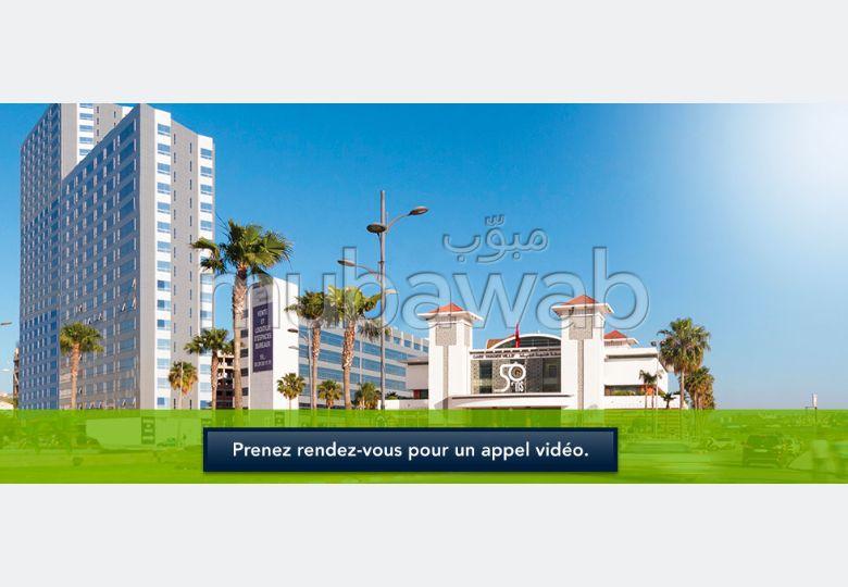 Appartement neuf de 62m² à vendre au Tanger City Center