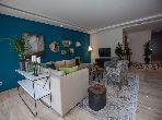 شقة مساحتها 50م²، مفروشة، مطبخ مجهز، غرفتين، أنفا