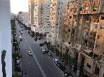 شقة مساحتها 120م²، مفروشة، مطبخ مجهز، 4 غرف، طنجة المدينة