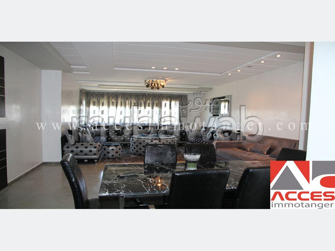 شقة مساحتها 120م²، مطبخ مجهز، حديقة، الشرف مغوغة