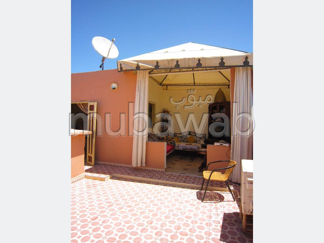Kasbah, mi appartement, mi maison, belle terrasse
