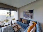 شقة رائعة للبيع بدار بوعزة. 2 غرف ممتازة. مصعد ومرآب.