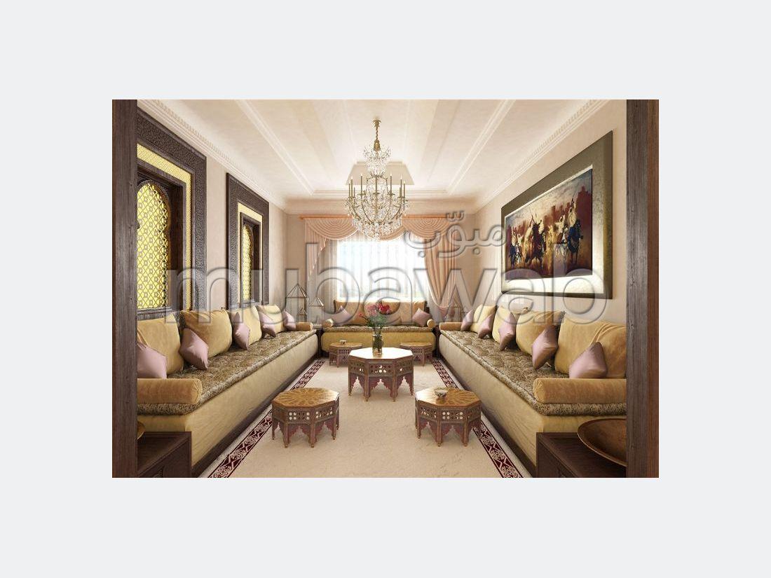 بيع شقة ب حي الغولف. 3 غرف ممتازة. مع المرآب والمصعد.