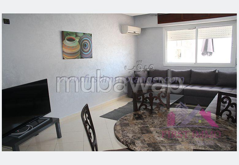 Spacieux appartement meuble avec terrasse a louer
