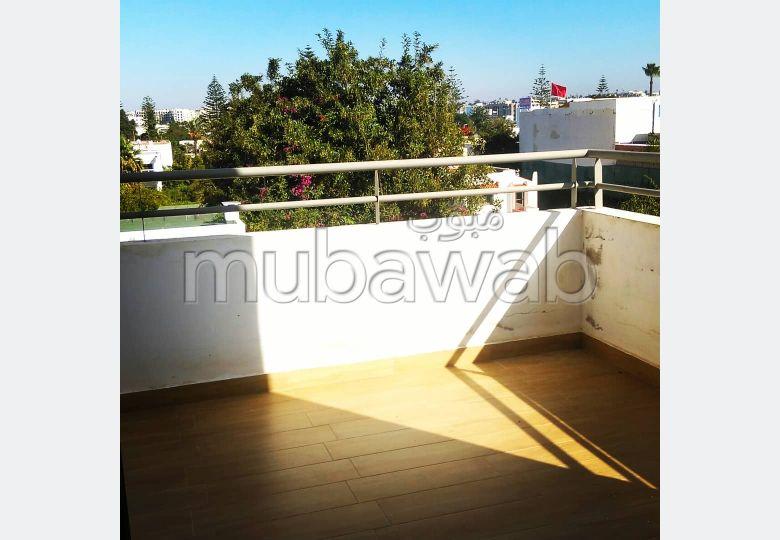 Appartement H. S avec terrasse a louer sur Oasis
