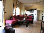 Sale of a lovely apartment in Ennakhil (Palmeraie). Dimension 74 m². Air conditioning and swimming pool.