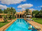 Marrakech villa d'exception sur 4000 m2 arboré