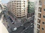 شقة مساحتها 208م²، مطبخ مجهز، مصعد، 6 غرف، طنجة المدينة