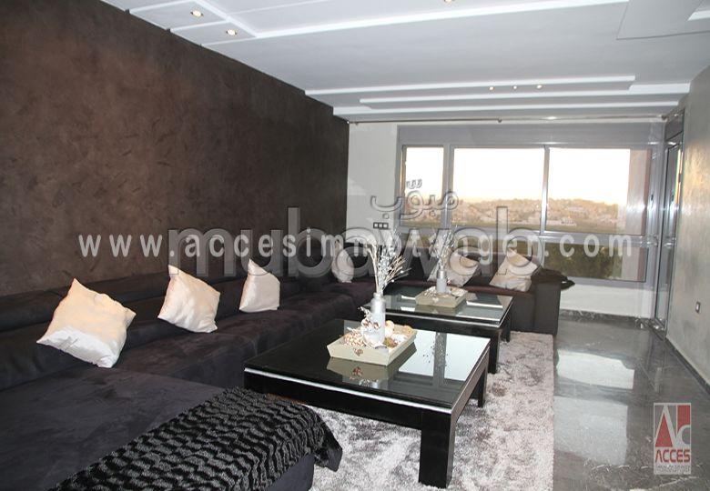 شقة مساحتها 120م²، مطبخ مجهز، حديقة، 4 غرف