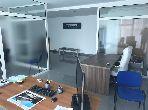 Oficinas en alquiler en Souissi. Superficie 60 m². Conserje disponible, aire condicionado general.