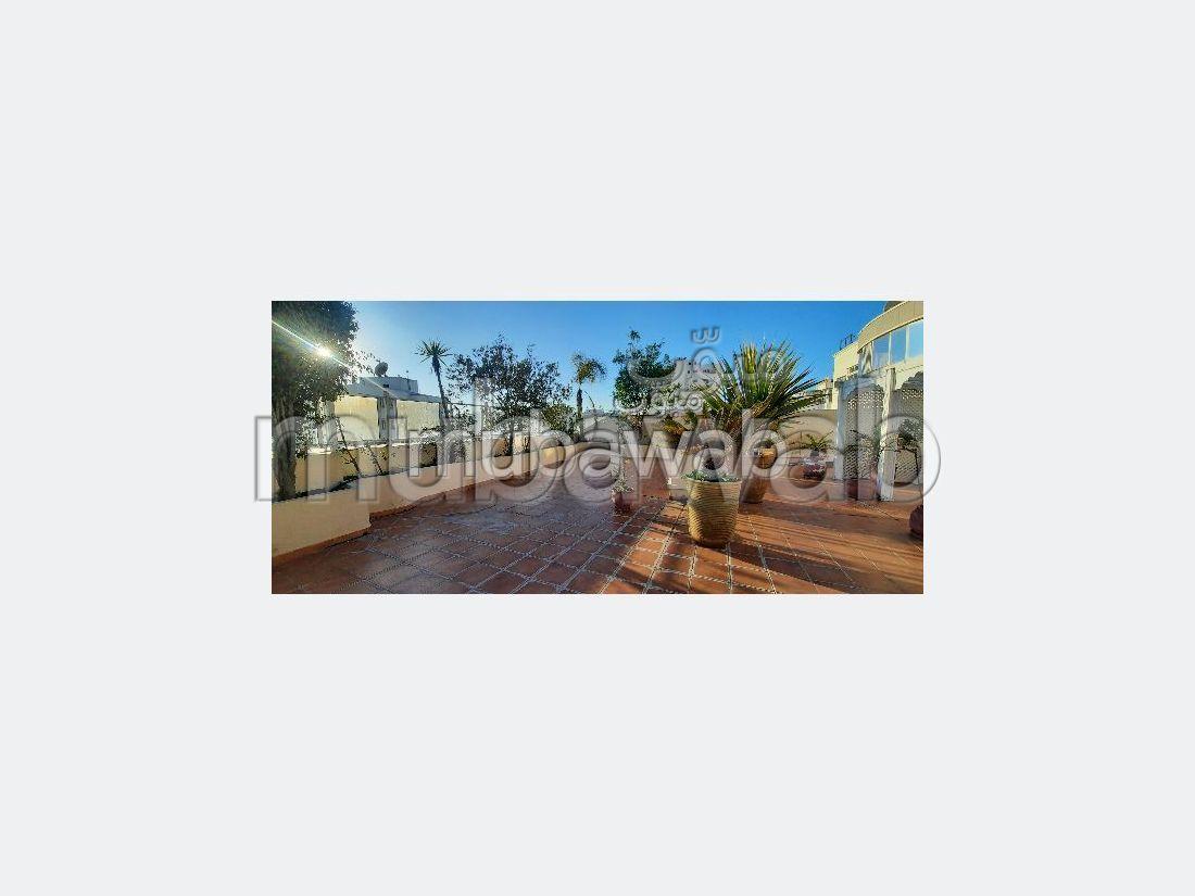 Duplex  6 ème étage , terrasse ensoleillé 446m