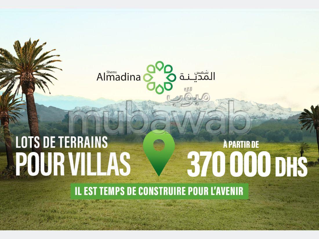 Lot de terrain de 150m² pour villa en vente SHEMS AL MADINA, MARRAKECH