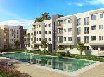 Appartement de 126m² avec 3 façades salon vue Bd en vente, Palm Garden