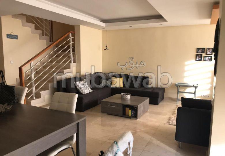 Duplex H. S meublée terrasses sur Bouskoura