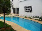 À rabat location villa meublée avec piscine