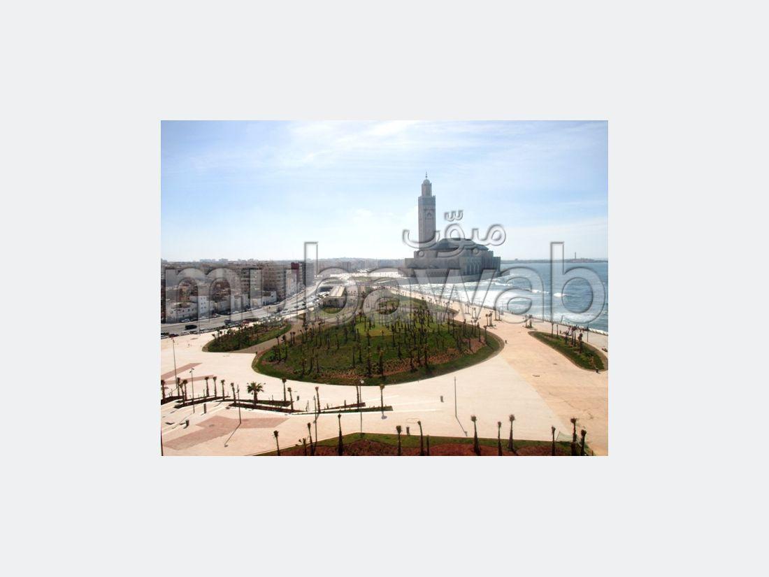 Marina appartement vue mer et la mosquée hassan 2
