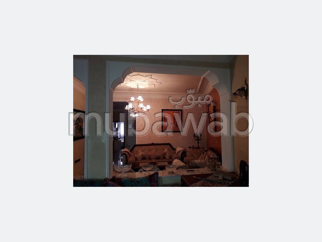 Find an apartment to buy in Ain El Hayani. 3 Large room. Reinforced door and satellite dish.