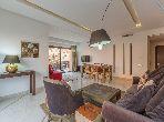 Luxueux appartement 3 chambres à louer à Guéliz Marrakech