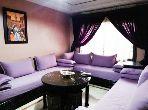 شقة مساحتها 52م²، مطبخ مجهز، شرفة، 4 غرف، جيليز