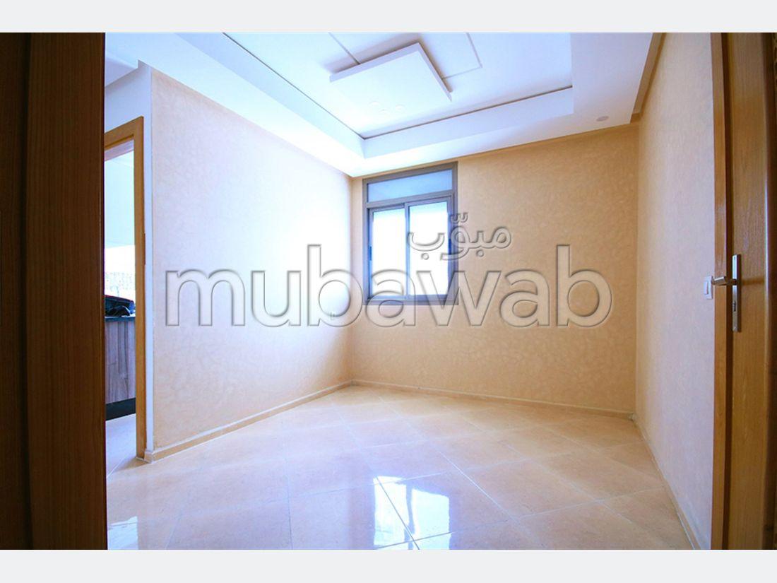 شقة للبيع بالقنيطرة. 3 غرف ممتازة. شرفة مشرقة.