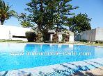 Villa avec chauffage et piscine à louer au quartie