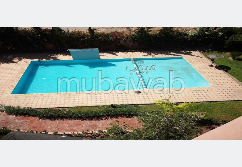 Location longue durée Duplex 4 chambres proche Palmeraie Marrakech