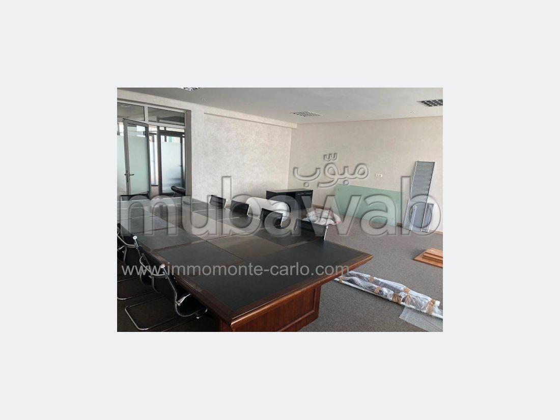 Plateau Bureau standing à louer à Rabat à Souissi