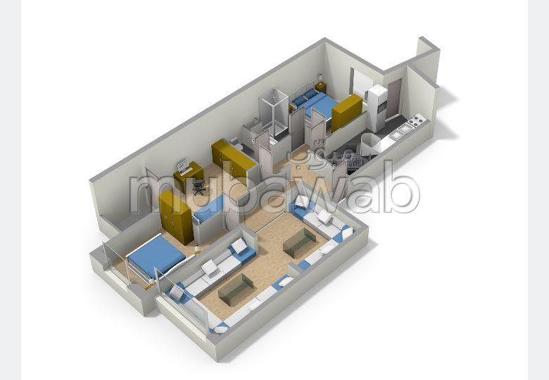 Appartempent de 104m² +25m² de terrasse, Résidence Les Orangers de Val Fleury