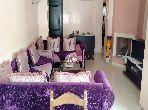 Appartement meuble en location a el mansouria