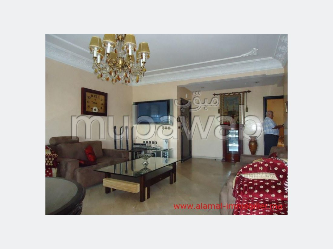 Sell apartment in Quartier Bachkou. 3 Small bedroom. Cellar, Large terrace.