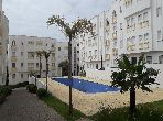 Apartment for sale in Boukhalef. Area of 54 m². Swimming pool and caretaker service.