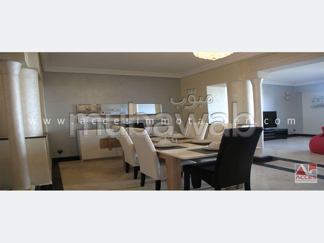شقة مساحتها 183م²، مفروشة، مطبخ مجهز، 5 غرف، الشرف مغوغة